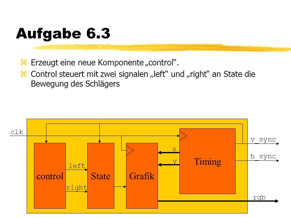 """Aufgabe 6.3 zErzeugt eine neue Komponente """"control ."""