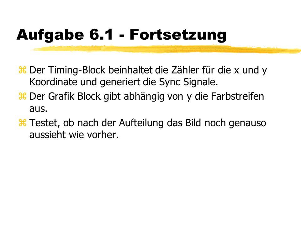 """Aufgabe 6.2 zErzeugt eine neue Komponente """"state ."""