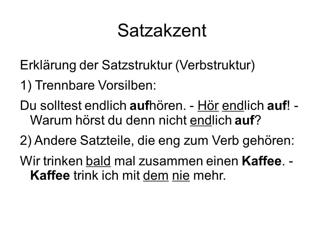 Satzmelodie Aussage So klingt´s in Deutsch↓land.Ein Bauer hatte drei Söh↓ne.