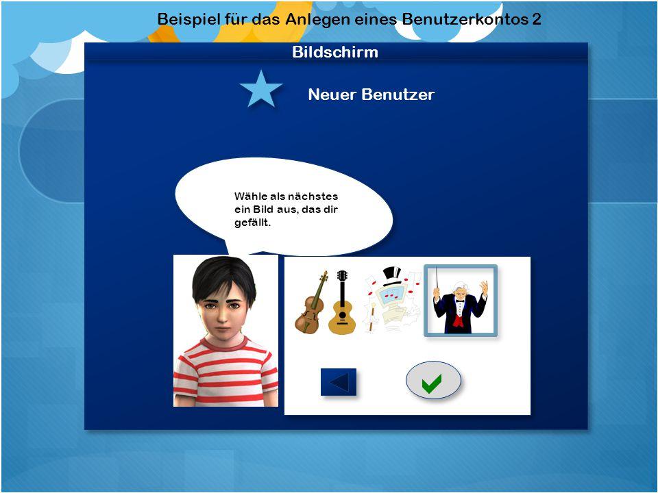 Webcambild Rückmeldung über Leistungsstand Anweisung und Rückmeldung über richtige oder falsche Lautstärke Anweisung welches Instrument und Notenwert zu benutzen ist Rückmeldung über richtigen oder falschen Rhythmus + Audiospur Webcambild Rückmeldung über Leistungsstand Anweisung und Rückmeldung über richtige oder falsche Lautstärke Anweisung welches Instrument und Notenwert zu benutzen ist Rückmeldung über richtigen oder falschen Rhythmus + Audiospur Bildschirm Mikrofon Bewegungssensor Webcam Koor- dination Koor- dination Augen- kontakt Schematischer Aufbau der verwendeten Werkzeuge (Vorder- Ansicht; der Benutzer sitzt vor dem Bildschirm)