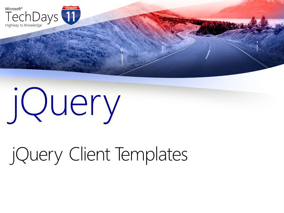 jQueryClient Templates jQuery