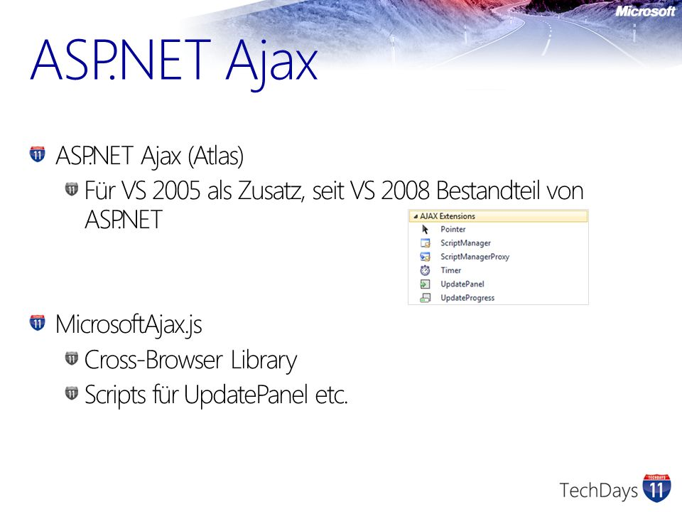 http://jquery.com In VS 2010 enthalten