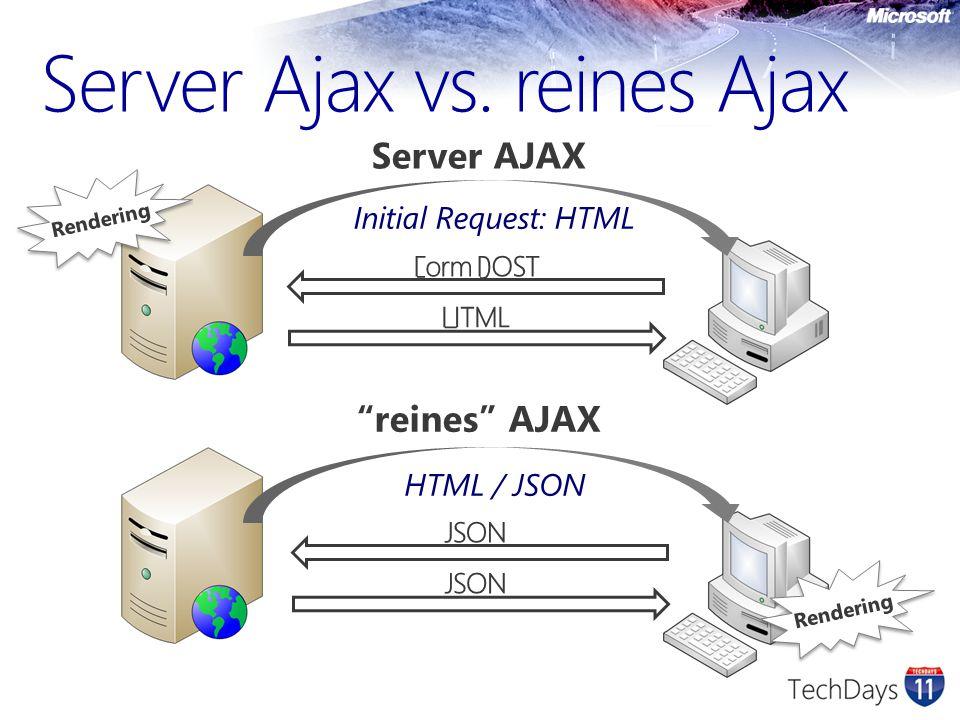 Server Ajax vs.