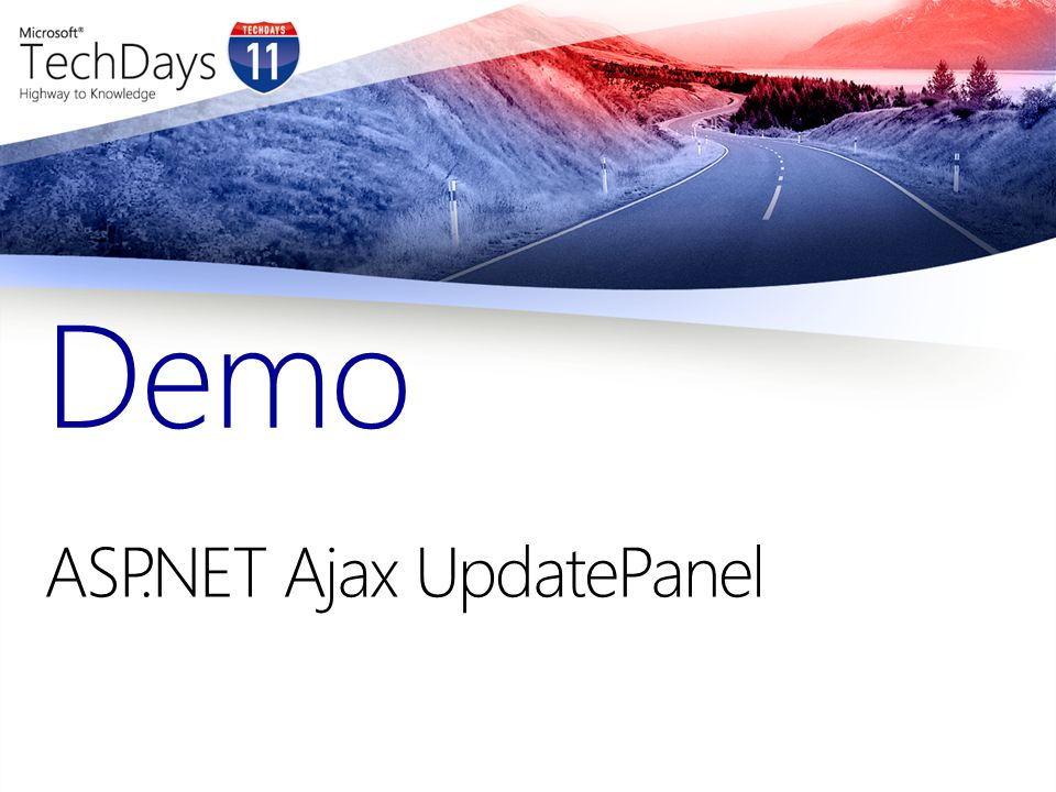 ASP.NET Ajax UpdatePanel Demo