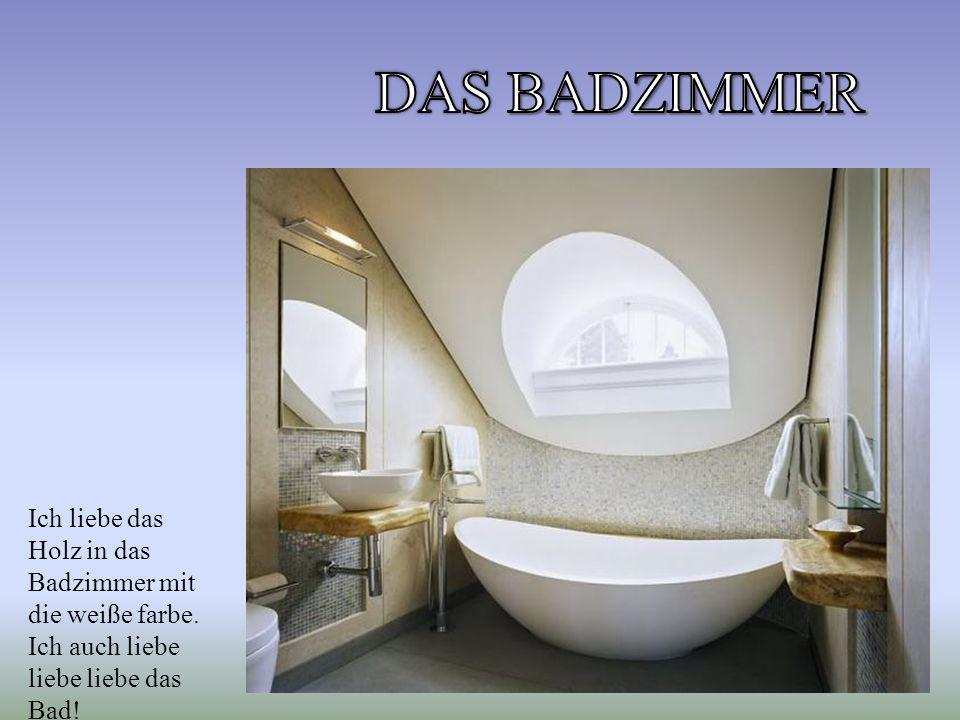Ich liebe das Holz in das Badzimmer mit die weiße farbe. Ich auch liebe liebe liebe das Bad!