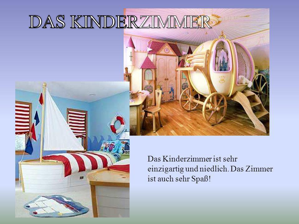 Das Kinderzimmer ist sehr einzigartig und niedlich. Das Zimmer ist auch sehr Spaß!