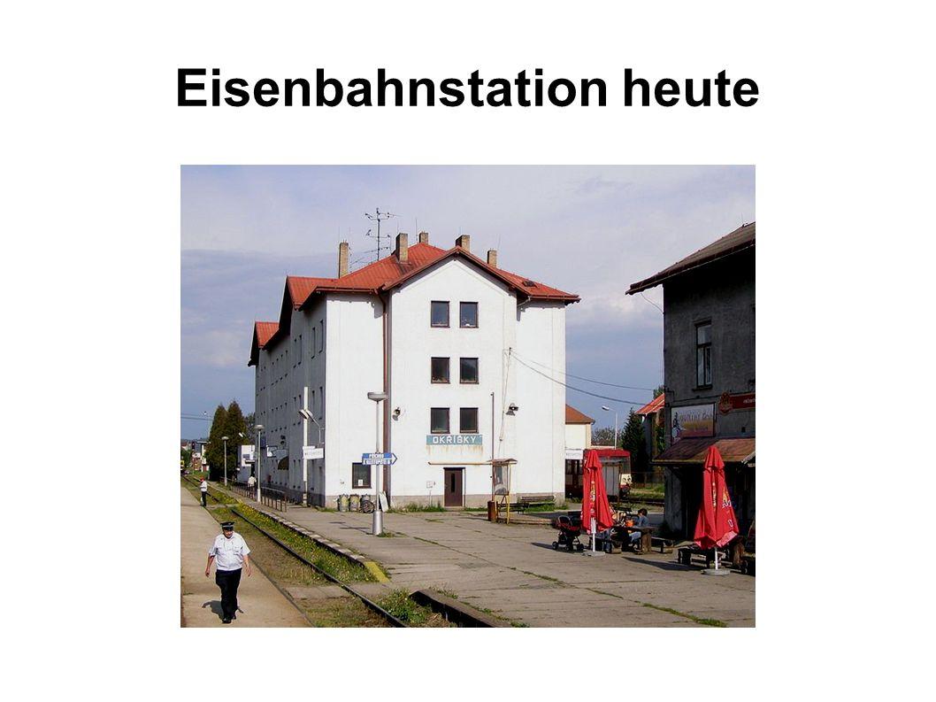 Eisenbahnstation heute