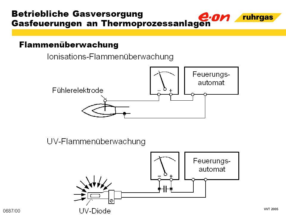 VVT 2005 Betriebliche Gasversorgung Gasfeuerungen an Thermoprozessanlagen Flammenüberwachung 0687/00