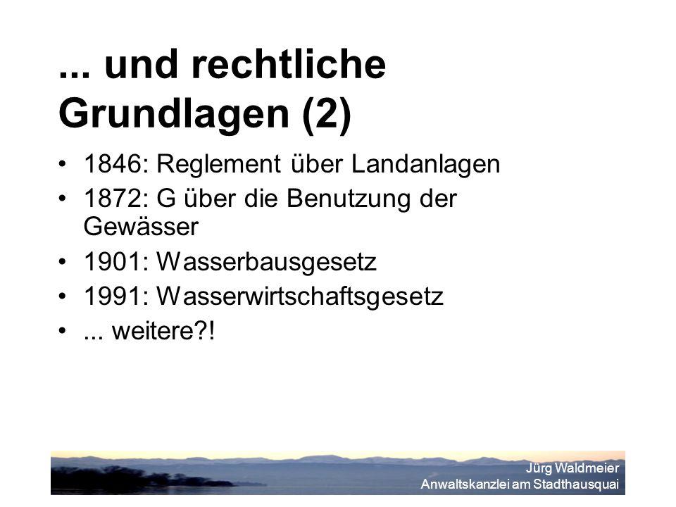 Jürg Waldmeier Anwaltskanzlei am Stadthausquai...