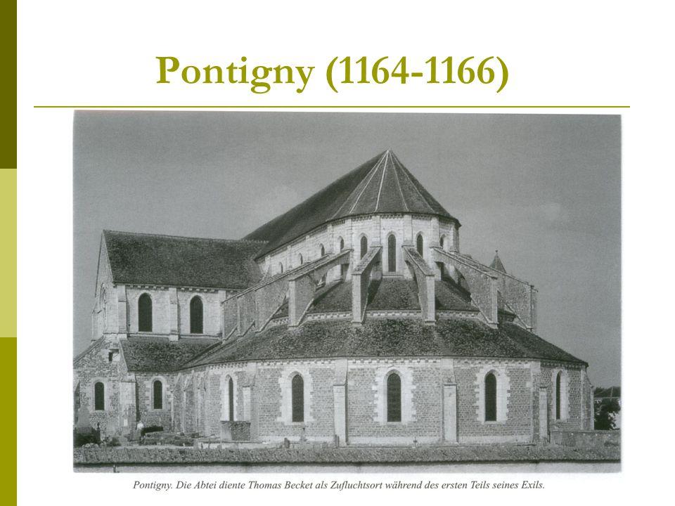 Pontigny (1164-1166)