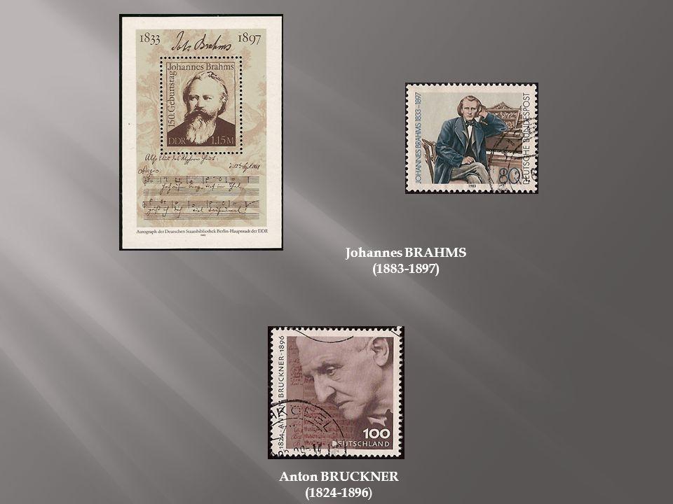Dietrich BUXTEHUDE ( 1637-1707) ) Werner EGK Werner MAYER dit (1901-1983) Hugo DIESTLER (1908-1942) Hans EISLER (1898-1962) Wilhelm FURTWÄNGLER (1886-1954)