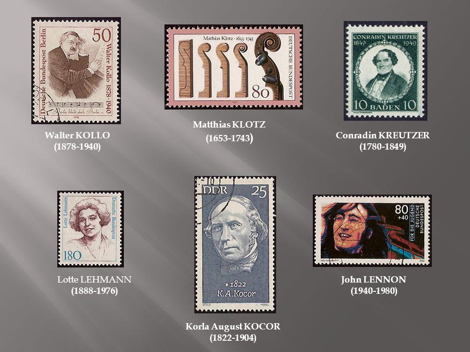 Louis LEWANDOWSKI (1821-1894) Rudolf MAUERSBERGER (1889-1971) Paul LINCKE (1866- 1946) Albert LORTZING (1801-1851)