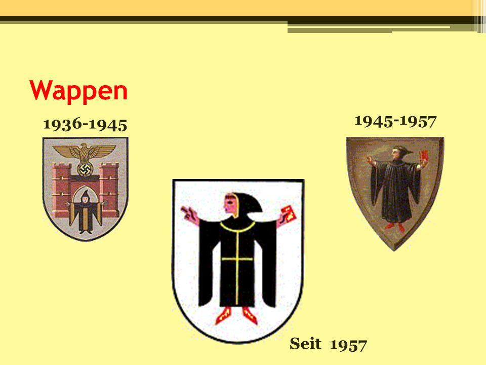 Wappen 1936-1945 1945-1957 Seit 1957