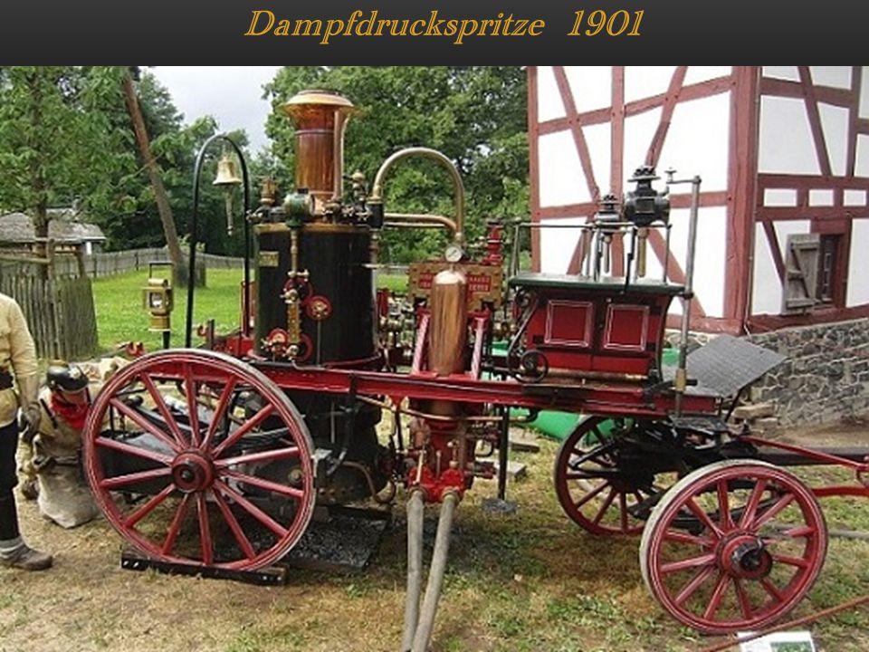 Dampfdruckspritze 1901