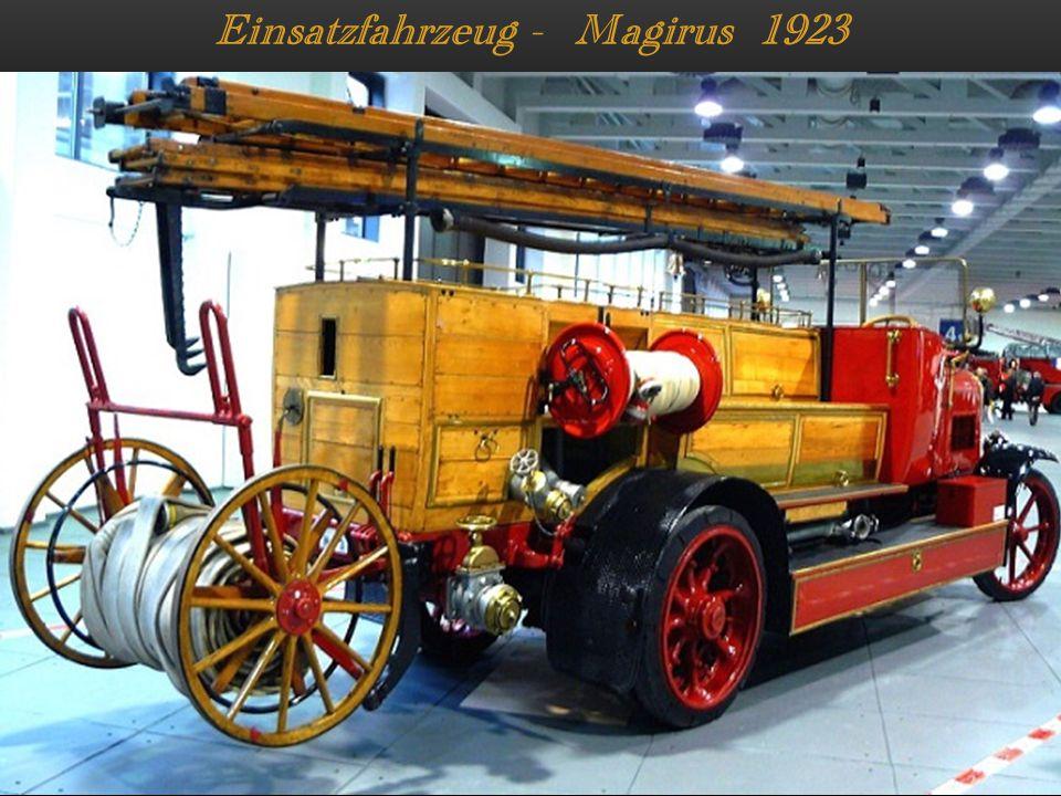Einsatzfahrzeug - Magirus 1923