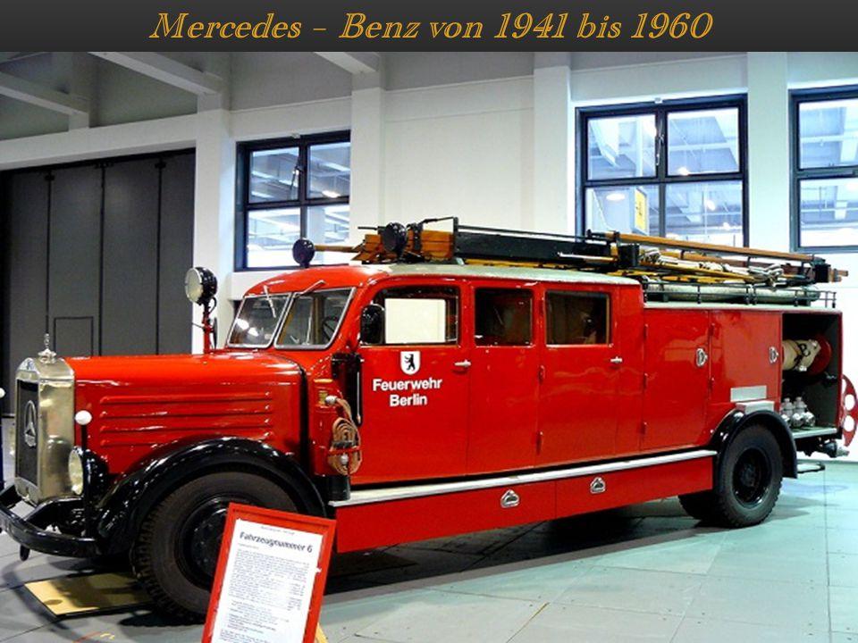 Mercedes – Benz von 1941 bis 1960