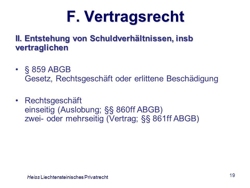 19 F.Vertragsrecht II.