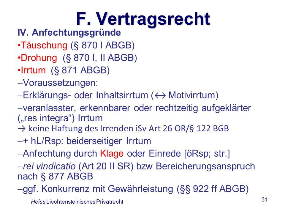 31 F.Vertragsrecht IV.