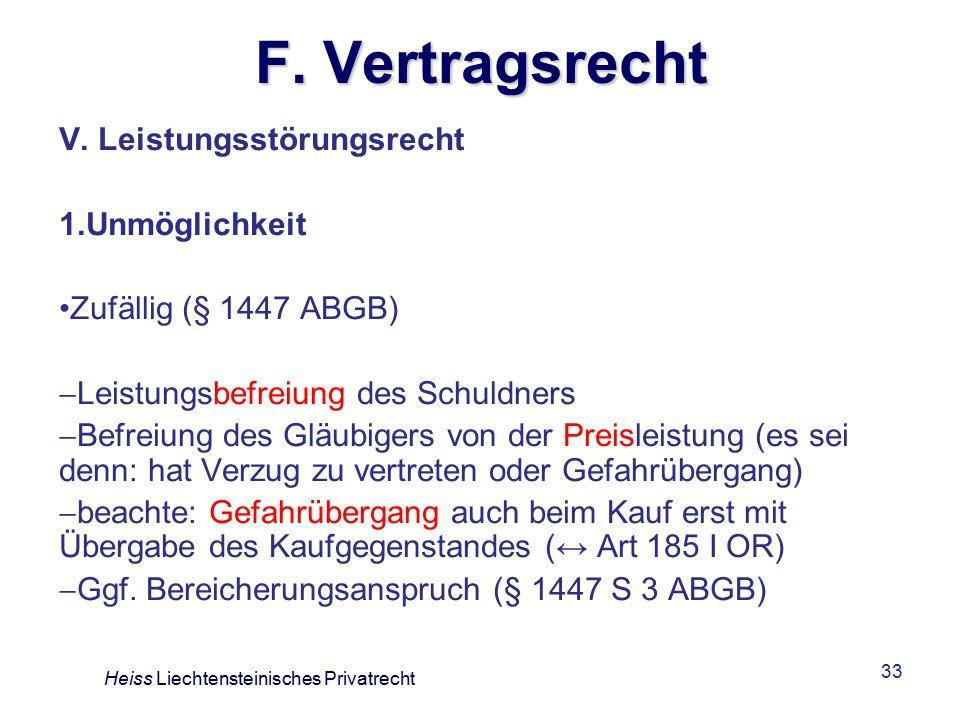 33 F.Vertragsrecht V.