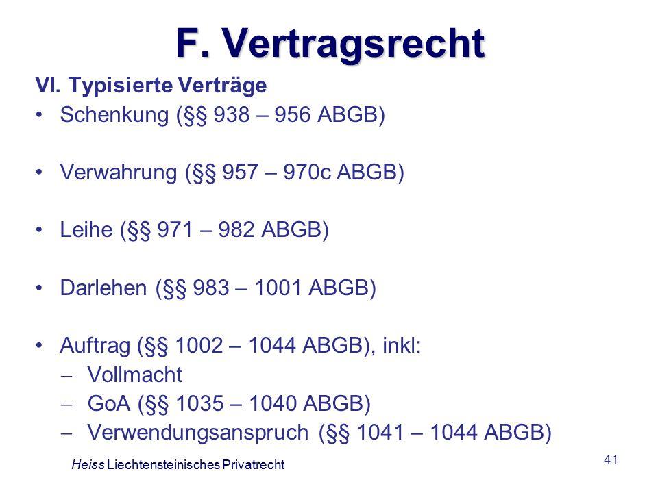 41 F.Vertragsrecht VI.