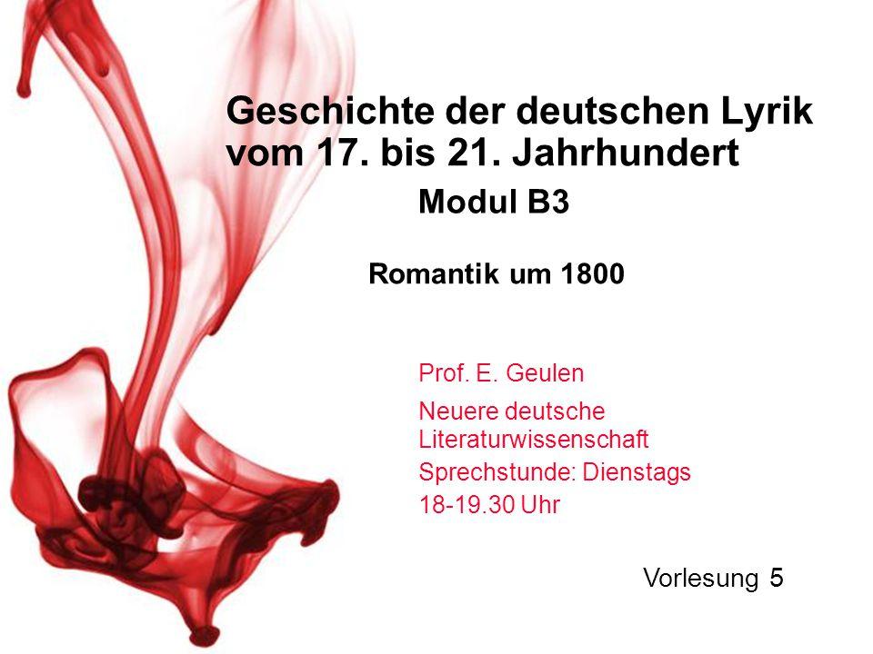 1.Rekapitulation und Nachtrag zu Hölderlin 2.