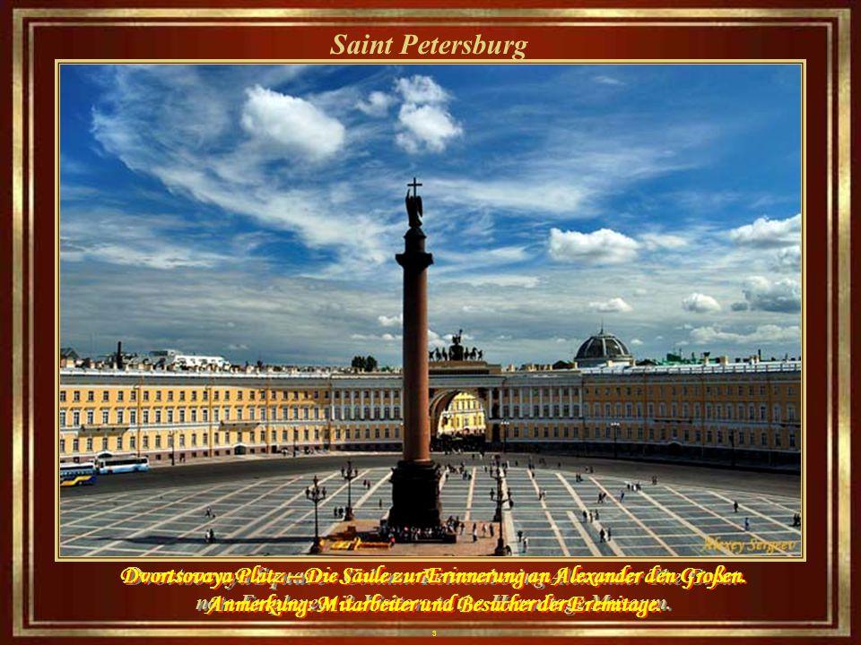43 Saint Petersburg The river snows and the Twelve Colleges of the Saint Petersburg University Der Fluss Schnee und die zwölf Colleges der Universität Sankt Petersburg