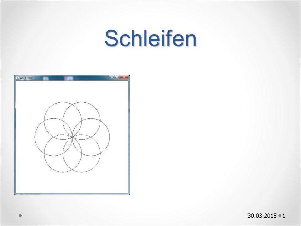 Rosette 2 Ziel Strategie gehe zur Mitte bewege den Stift um 100 zeichne Kreis mit Radius 100 drehe die Blickrichtung um 60 gehe zur Mitte bewege den Stift um 100 zeichne Kreis mit Radius 100 …