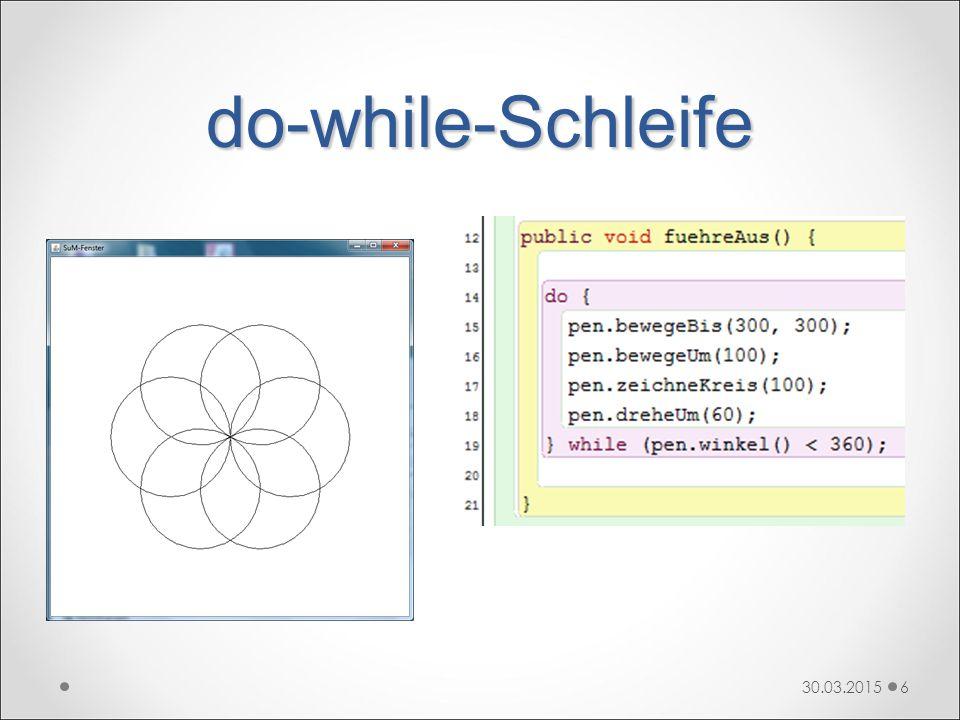 do-while-Schleife 30.03.20156