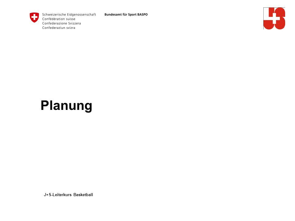 Planung J+S-Leiterkurs Basketball