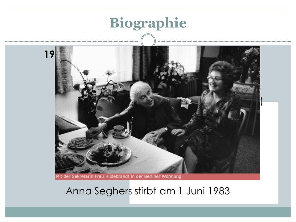Biographie 1942 Das siebte Kreuz.