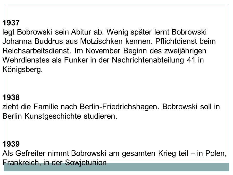 1925 zieht die Familie nach Rastenburg im heute polnischen Masuren.