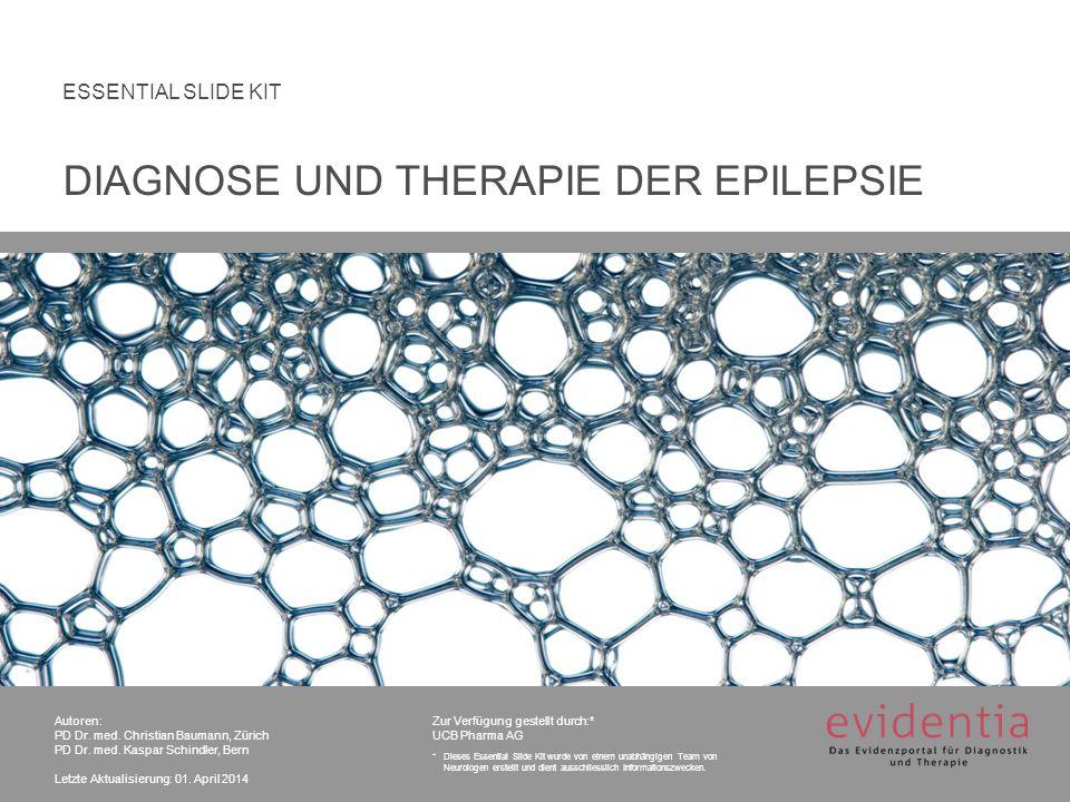 Klassifikationen DIAGNOSE UND THERAPIE DER EPILEPSIE 22 3.