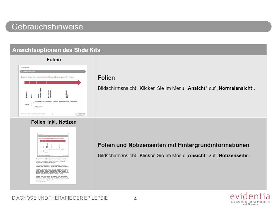 Behandlung Stufe 1- Lorazepam 0.05 - 0.1 mg/kg KG i.v.