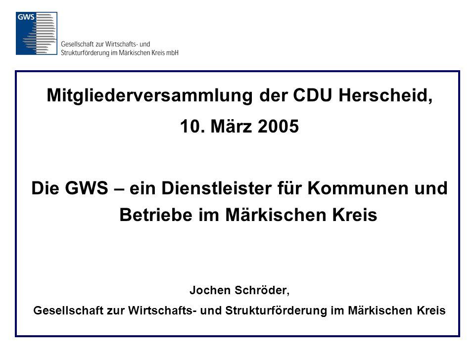Mitgliederversammlung der CDU Herscheid, 10.