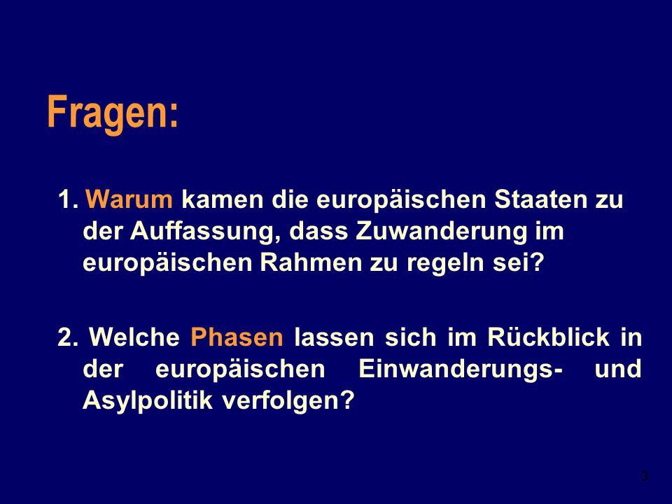 """2 Das Klischee von der Festung """"Festung Europa"""" – Besteht das Klischee zurecht?  Wie lässt sich die Einwanderungs- und Flüchtlings- Politik der Europ"""