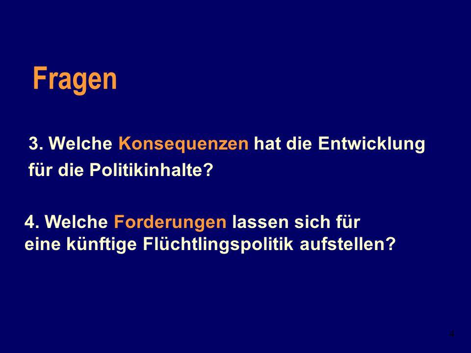 3 Fragen: 1. Warum kamen die europäischen Staaten zu der Auffassung, dass Zuwanderung im europäischen Rahmen zu regeln sei? 2. Welche Phasen lassen si