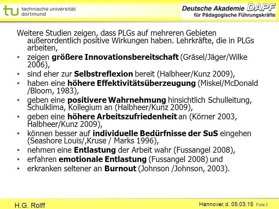 Hannover, d.05.03.15 Folie 3 H.G.