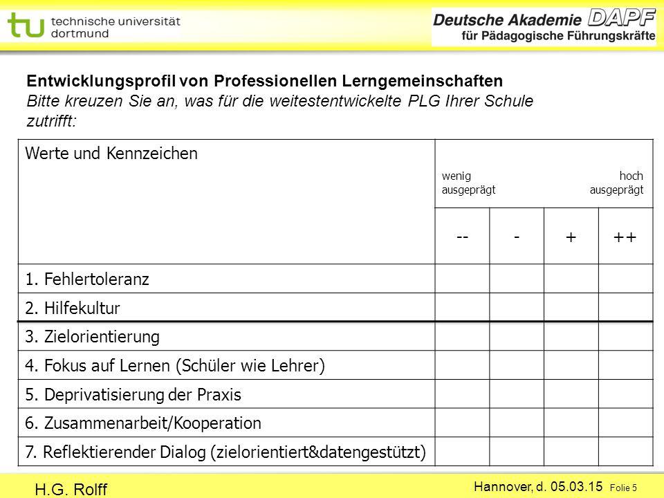 Hannover, d.05.03.15 Folie 5 H.G.