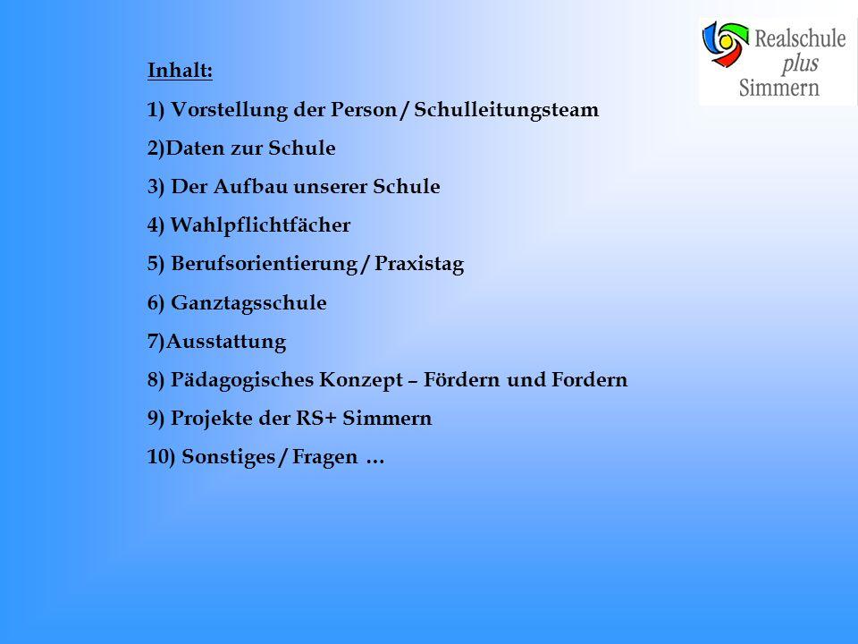 Informationsveranstaltung für die Grundschule Realschule plus Simmern, Kümbdcher Hohl 17, 55469 Simmern, Tel.: 06761-93220, www.realschuleplus-simmern.de
