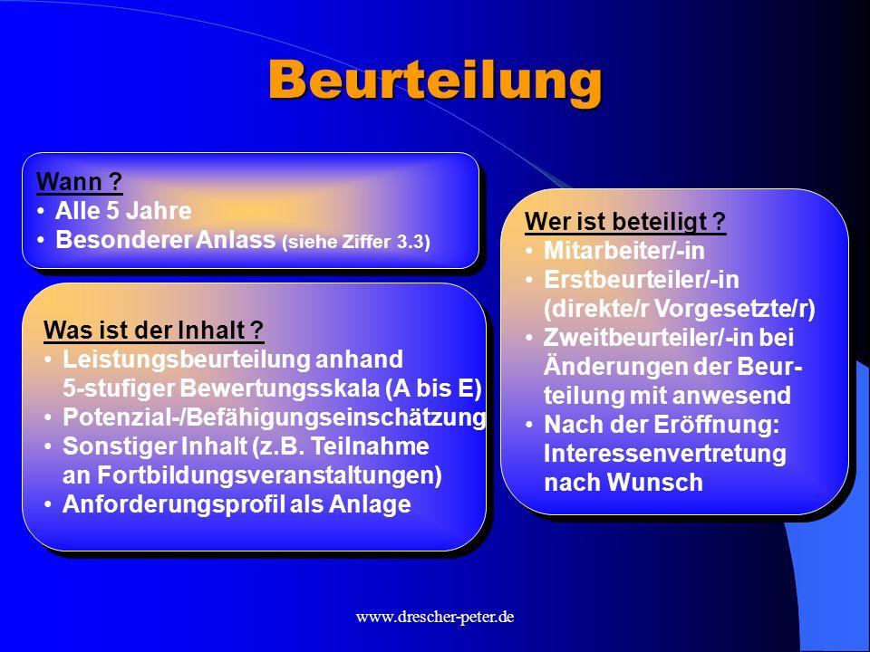 www.drescher-peter.de Beurteilung Was ist der Inhalt .