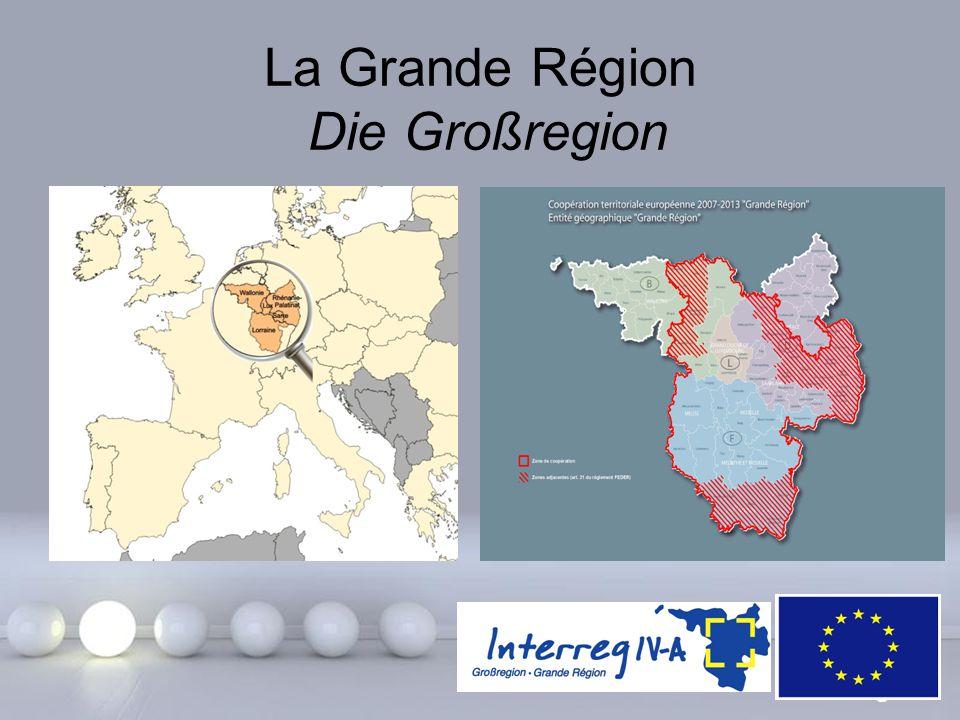 Powerpoint Templates Page 2 La Grande Région Die Großregion