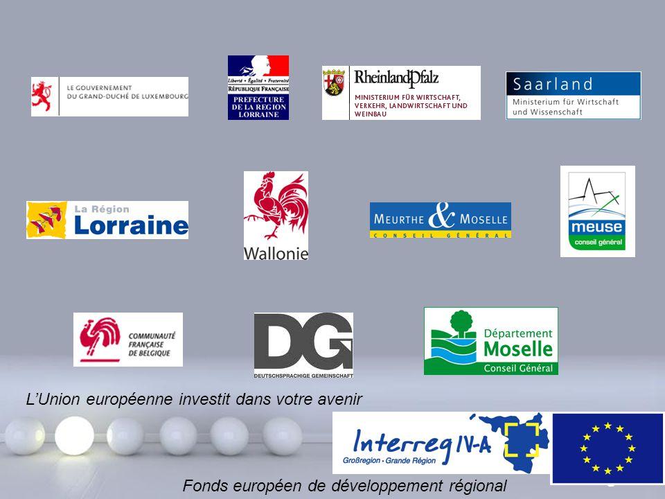 Powerpoint Templates Page 32 L'Union européenne investit dans votre avenir Fonds européen de développement régional