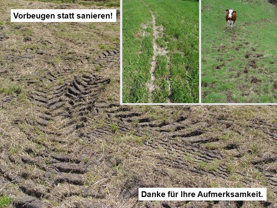32 O. Huguenin-Elie | © Forschungsanstalt Agroscope Reckenholz-Tänikon ART Förderung von Futtergräsern durch natürliche Versamung oder Übersaaten Dank