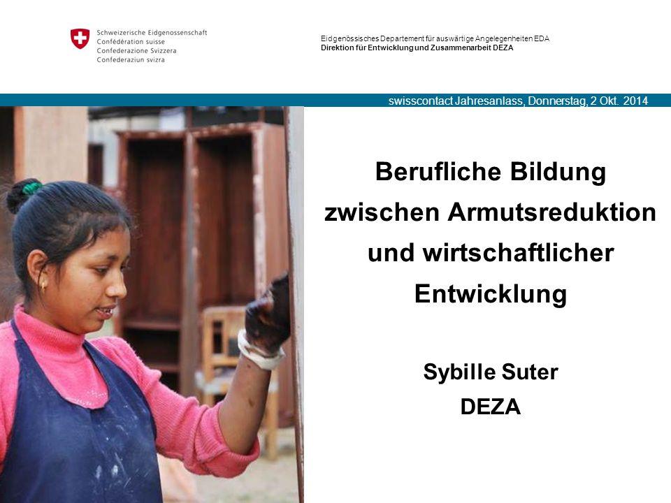 Titel: Powerpoint Mustervorlage Eidgenössisches Departement für auswärtige Angelegenheiten EDA Direktion für Entwicklung und Zusammenarbeit DEZA Beruf