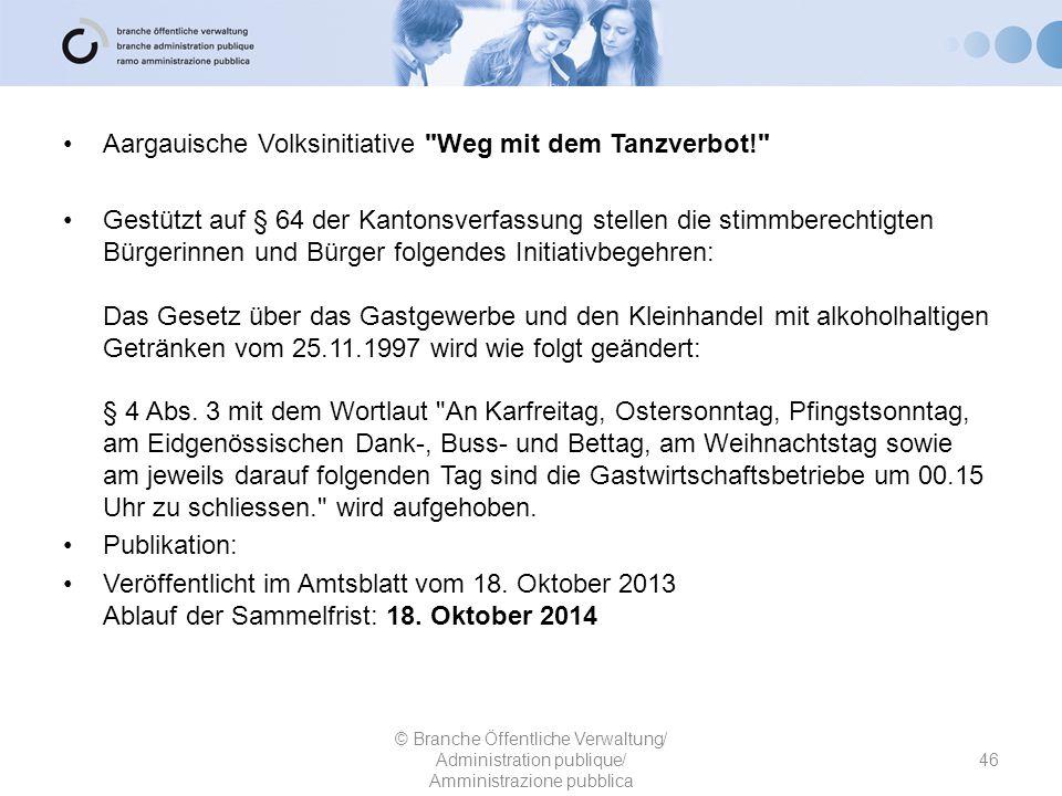 Aargauische Volksinitiative