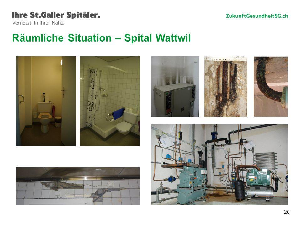 20 Räumliche Situation – Spital Wattwil