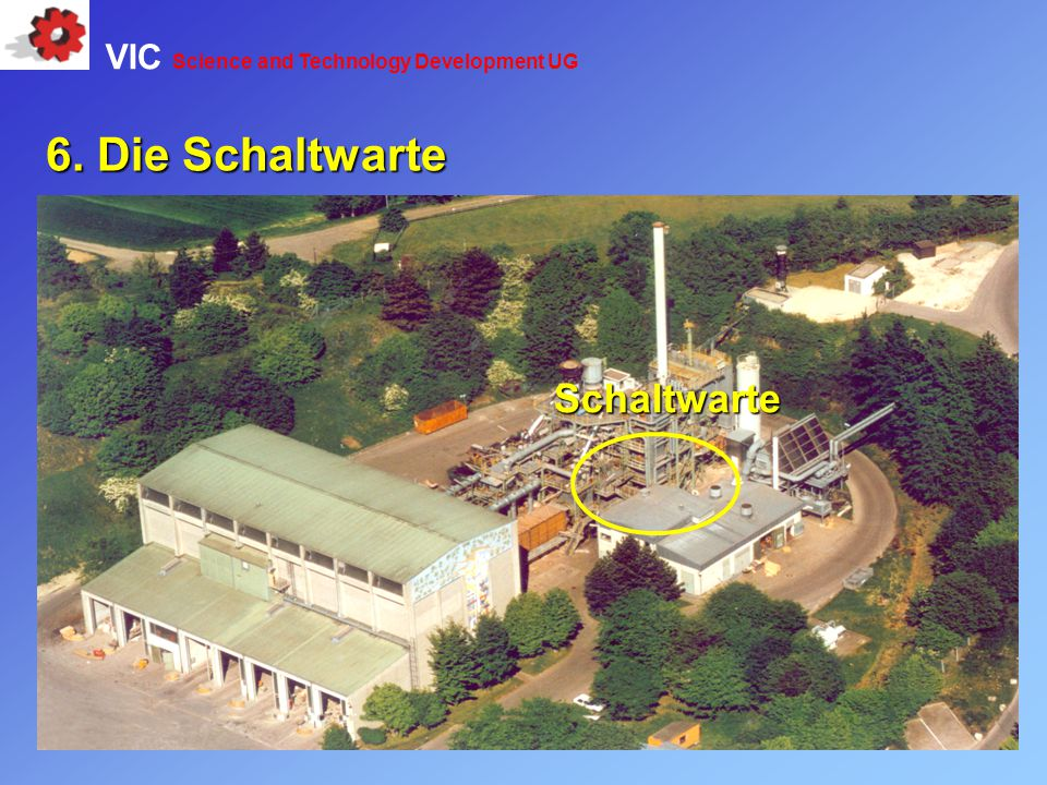 Schaltwarte 6. Die Schaltwarte VIC Science and Technology Development UG
