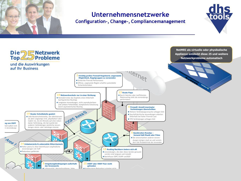 Unternehmensnetzwerke Configuration-, Change-, Compliancemanagement