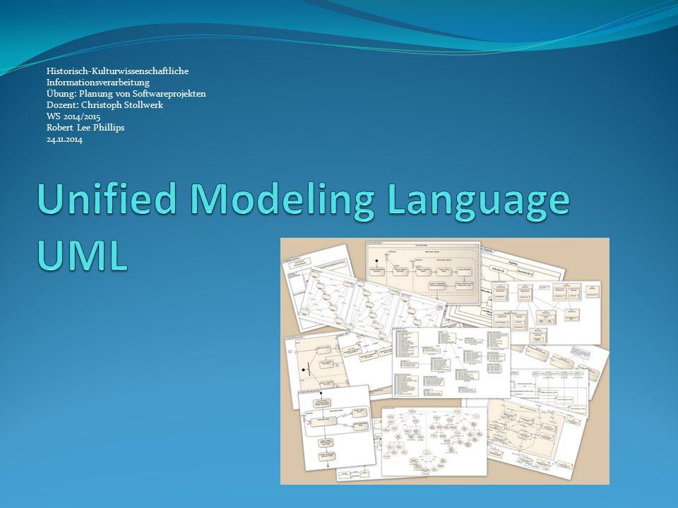 Was ist UML? Standardnotation für die OOA und OOD