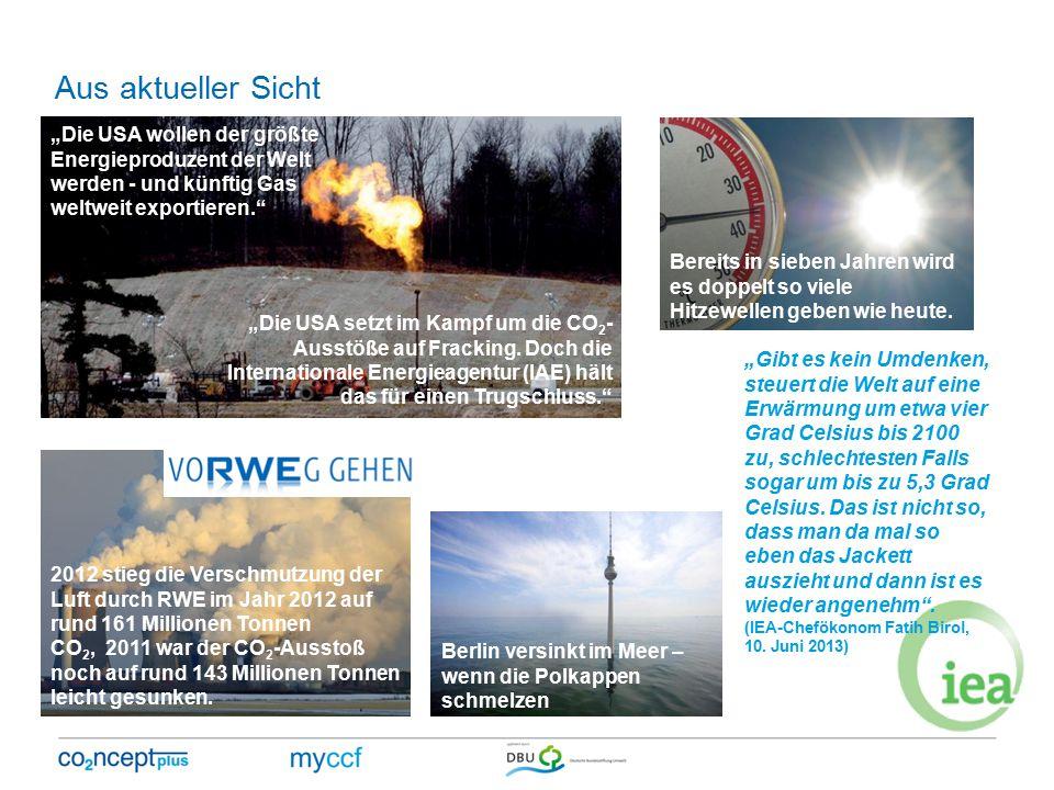 """""""Die USA wollen der größte Energieproduzent der Welt werden - und künftig Gas weltweit exportieren. """"Die USA setzt im Kampf um die CO 2 - Ausstöße auf Fracking."""